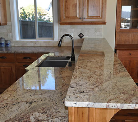 Granite counters give your home more than just a place to cook and eat food. Find out more about why to choose granite.