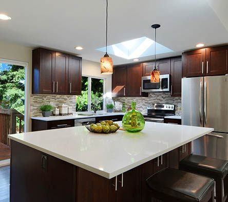Quartz is one of the most visually rich stones available. Click to find out why use quartz in your kitchen.