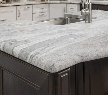 Choose how you want your countertop's edge to look like.