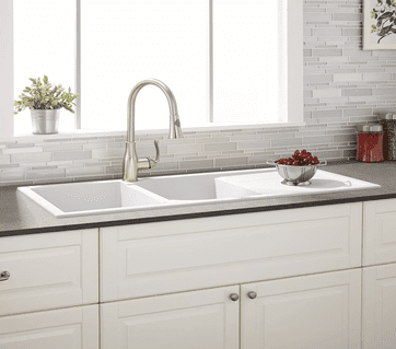 We offer a variety of sinks to match every kitchen.